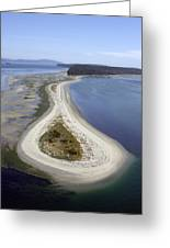 Sidney Spit Aerial Greeting Card