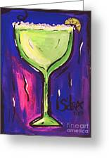 Sidzart Pop Art Series 2002 Margarita Baby Greeting Card