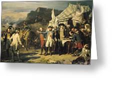 Siege Of Yorktown Greeting Card
