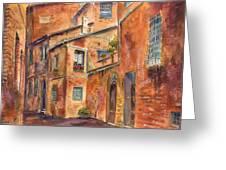 Siena Alley Greeting Card