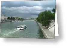 Seine River Greeting Card