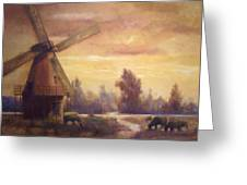 Sienna Mill Greeting Card