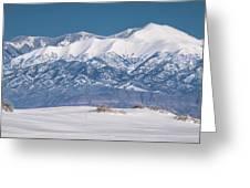 Sierra Blanca Greeting Card