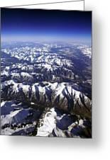 Sierra Nevada Range Greeting Card
