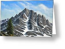 Sierra Peaks Greeting Card