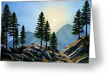 Sierra Sentinals Greeting Card