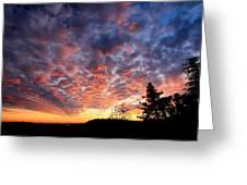 Sierra Skygasm Wide Angle Greeting Card