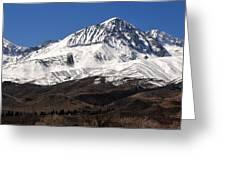 Sierra Winterscape Greeting Card