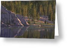 Sierra's Last Light Greeting Card