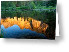 Sierras Reflected Greeting Card