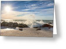 Siesta Key Splash Greeting Card