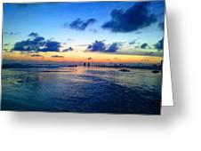 Siesta Key Sunset 1 Greeting Card
