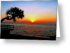 Siesta Key Sunset 2 Greeting Card