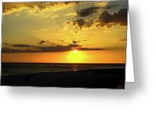 Siesta Sundown Greeting Card