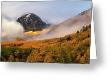 Siever's Mountain Greeting Card