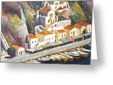 Sifnos  Greeting Card