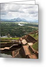 Sigiriya Ruins Greeting Card