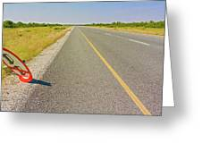 Sign On The Road Greeting Card
