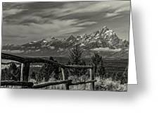 Signal Mtn Grand Teton Greeting Card