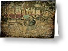 Signature Of War   Greeting Card