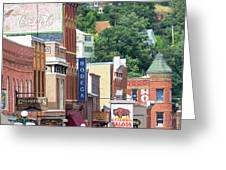 Signs And Historic Buildings Greeting Card