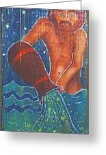 Signs Of Zodiak - Aquarius Greeting Card