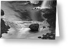Sigoldufoss Waterfalls Iceland 1315 Greeting Card