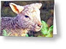 Silence Of The Lamb Greeting Card