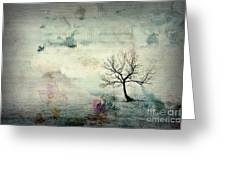 Silence To Chaos - 5502c3 Greeting Card