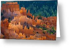 Silent City Greeting Card