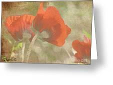 Silent Dancers Greeting Card