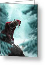 Silent Night Unholy Night Greeting Card