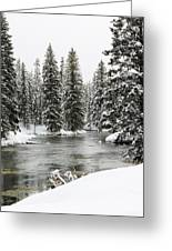 Silent River Greeting Card
