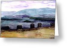 Silent Sentinels Greeting Card by Patricia Griffin Brett