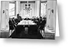 Silent Still: Board Meeting Greeting Card