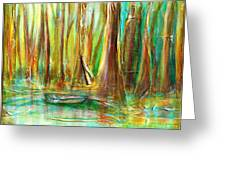 Silent Swamp Greeting Card