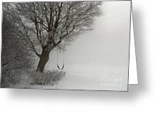 Silently Swinging Greeting Card