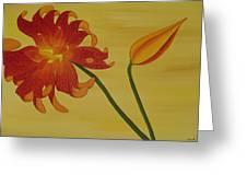 Silicum Langfoliom  Greeting Card