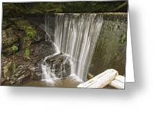 Silk Cascade Greeting Card
