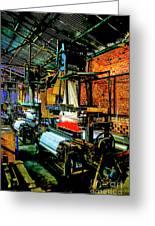 Silk Looms Greeting Card