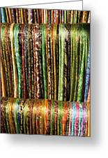 Silk Scarves For Sale Greeting Card