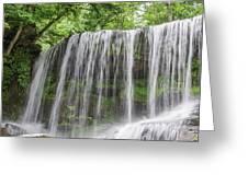 Silky Waterfalls Greeting Card