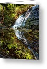 Silky Reflections Greeting Card