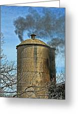 Silo Fire Venting Greeting Card