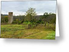 Silo Still Stands Greeting Card