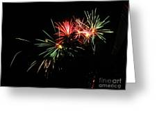 Silute 500. Lithuania. Fireworks 01 Greeting Card