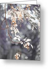 Silver Beauty.  Nature In Alien Skin Greeting Card