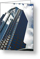 Silver Building Greeting Card
