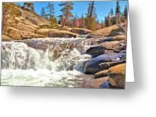 Silver Creek Rapid Greeting Card