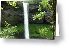 Silver Falls 1 Greeting Card